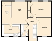 2 bedroom flat Runcorn