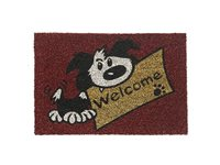 Paillasson Hamat 'Ruco' Print Welcome Dog 40 Cm X 60 Cm
