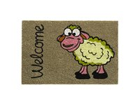 Paillasson Hamat 'Ruco' Print Welcome Sheep 40 Cm X 60 Cm d'occasion