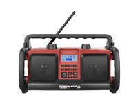 Radio De Chantier Perfectpro 'Workman 2' Rouge