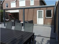 Pergola Patio 4X3 M Anthracite Clair