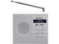 LENCO Draagbare Radio DAB+ FM Wit (PDR-020WH)