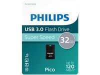 PHILIPS Clé USB  32 GB Mini Pico Noir (FM32FD90B/10)