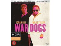 WARNER HOME VIDEO War Dogs Blu-Ray 4K HDR