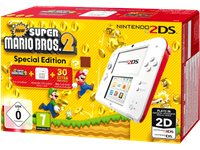 NINTENDO 2DS Rood/Wit + New Super Mario Bros 2