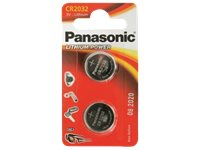 PANASONIC BATTERY Piles Boutons (CR2032/2BP)