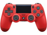 PLAYSTATION Manette Sans Fil PS4 Dualshock 4 V2 Magma Red (9814153)