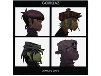 WARNER MUSIC BENELUX Gorillaz - Demon Days CD