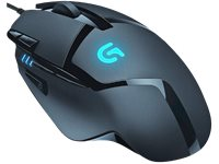 LOGITECH Gamingmuis G402 Hyperion Fury (910-004068)