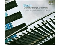 BRILLIANT Musika Amphion & Pieter-Jan Belder - Bach: Brandenburg Concertos CD