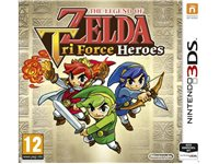NINTENDO GAMES The Legend Of Zelda: Tri Force Heroes FR 3DS