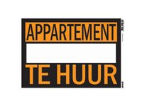 Occasion, Panneau Pickup 'Appartement Te Huur' d'occasion