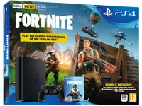 PLAYSTATION PS4 Slim 500 GB Noir + Fortnite Voucher (9722717)