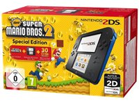 NINTENDO 2DS Zwart + New Super Mario Bros. 2 (2204532)