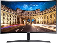 SAMSUNG Moniteur LC27F396FHUXEN 27'' Full-HD Curved