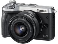 CANON Hybride Camera EOS M6 + 15-45Mm (1725C012AA)