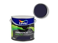 Peinture Murale Levis 'Ambiance' Extra Mat Cosmos 2,5L