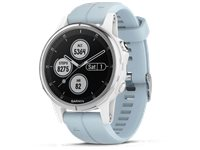 GARMIN Montre GPS Fenix 5S Plus Bleu (010-01987-23)
