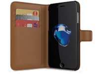 BEHELLO Wallet Case Iphone 7 Bruin (BEHWAL00085)
