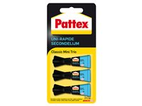 Colle Séchage Rapide Pattex 'Mini-Trio' – 3 Pcs