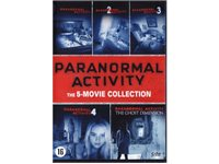 UNIVERSAL PICTURES Paranormal Activity: The 5-Movie Collection - DVD