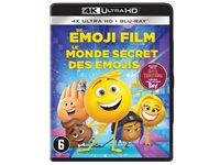 SONY PICTURES Le Monde Secret Des Emojis 4K Blu-Ray