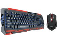 DRAGON WAR Gamingmuis + Gamingtoetsenbord Sencaic AZERTY (SENCAICBLACK)