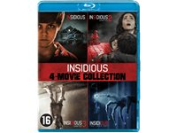 SONY PICTURES Insidious: 4-Movie Collection - Blu-Ray