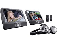 LENCO Lecteur DVD Portable 9'' Duo + Lot De 5 DVD (DVP-940 + MOVIES BENELUX)