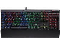 CORSAIR Clavier Gamer K70 RGB Rapidfire Cherry MX Speed AZERTY BE (CH-9101014-BE)