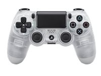 PLAYSTATION Draadloze Controller PS4 Dualshock 4 V2 Crystal (9868361)