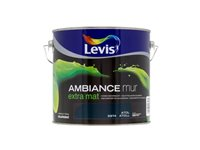 Peinture Murale Levis 'Ambiance' Atoll Extra Mat 2,5L
