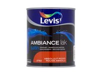 Laque Levis 'Ambiance' Rouge Absolu Satin 750Ml