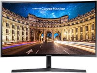 SAMSUNG Computerscherm LC24F396FHUXEN 24'' Full-HD Curved