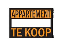 Panneau Pickup 'Appartement Te Koop' d'occasion