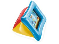 CELLULARLINE Protection Gonflable Puffy Tablette 11'' Bleu/Jaune/Rouge (KIDCASE1)