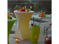 Occasion, Nappage Pour Table Haute Lime 80 Cm d'occasion