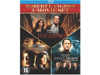 SONY PICTURES Da Vinci Code - Angels & Demons - Inferno Blu-Ray