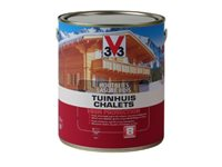 Lasure V33 'Chalets High Protection' Incolore 2,5L