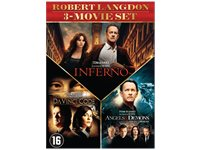 SONY PICTURES Da Vinci Code - Angels & Demons - Inferno DVD