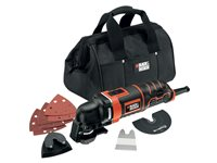 Outil Multi-Fonctions Black + Decker 'MT280BA-QS' 280W