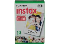 Fuji Instax Colorfilm Mini Glossy (10 Poses)