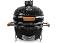 "Patton Kamado Grill 16"" Table Chef Noir"