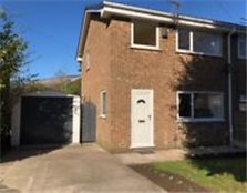 3 bed semi detached house with garage Radcliffe