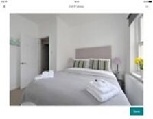 Bath central first floor 1 double bedroom flat, fully furnished