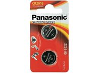 PANASONIC BATTERY Piles Lithium CR2016 2 Pack
