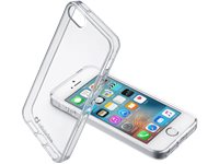 CELLULARLINE Hardcover Bumper Clear Duo Iphone 5/5S/SE (CLEARDUOIPH5T)