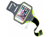 Mobiparts Comfort Fit Bracelet De Sport Apple Iphone 6/6S Vert