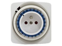 CHACON Timer Mecanique Blanc (54000)