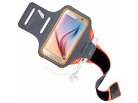 Mobiparts Comfort Fit Brassard De Sport Samsung Galaxy S6 Orange